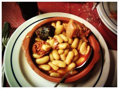 Auténtica fabada asturiana!