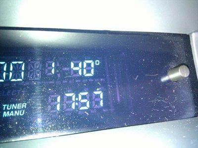 Que 'frío' hace :-)